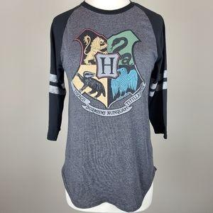 Harry Potter Hogwarts Crest Top
